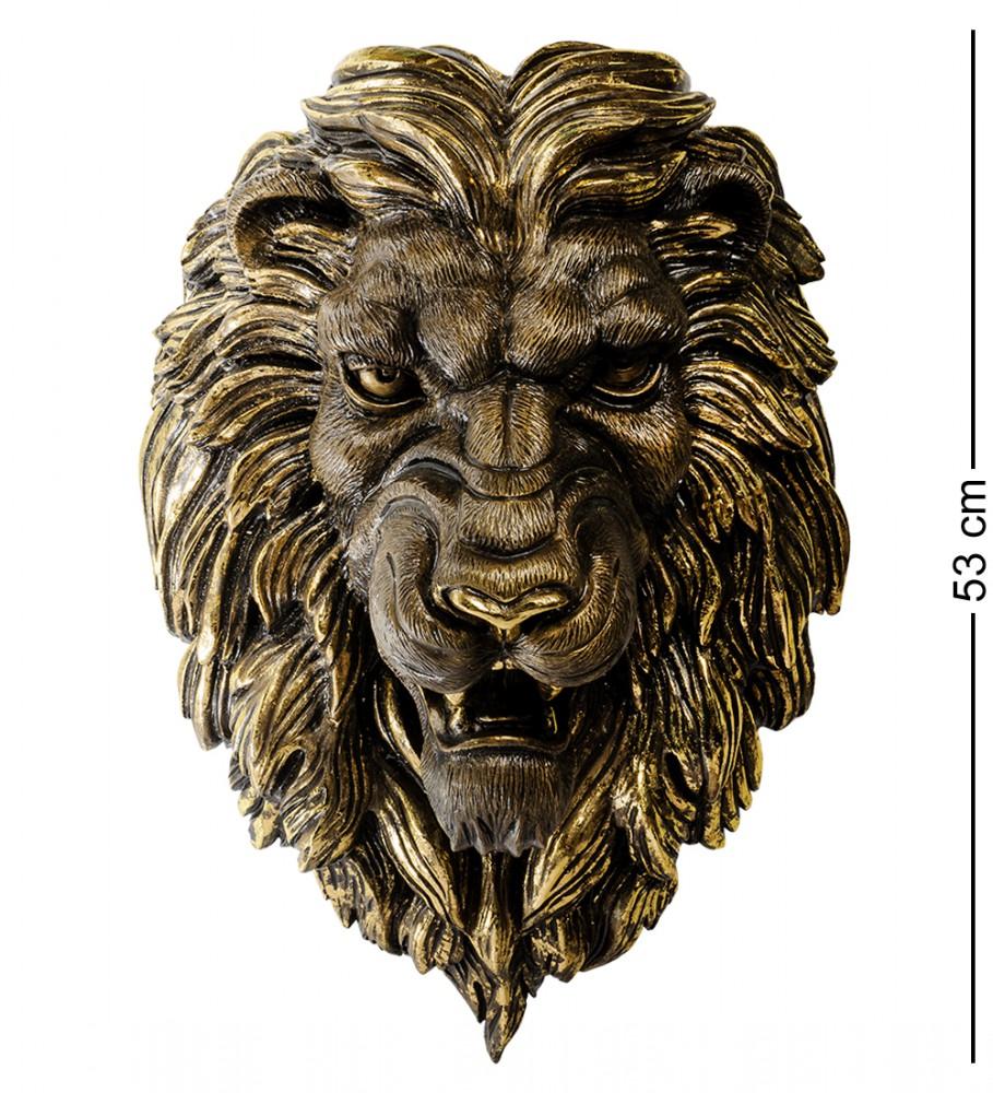 """Настенная фигура """"Грозный лев"""" 53 см"""