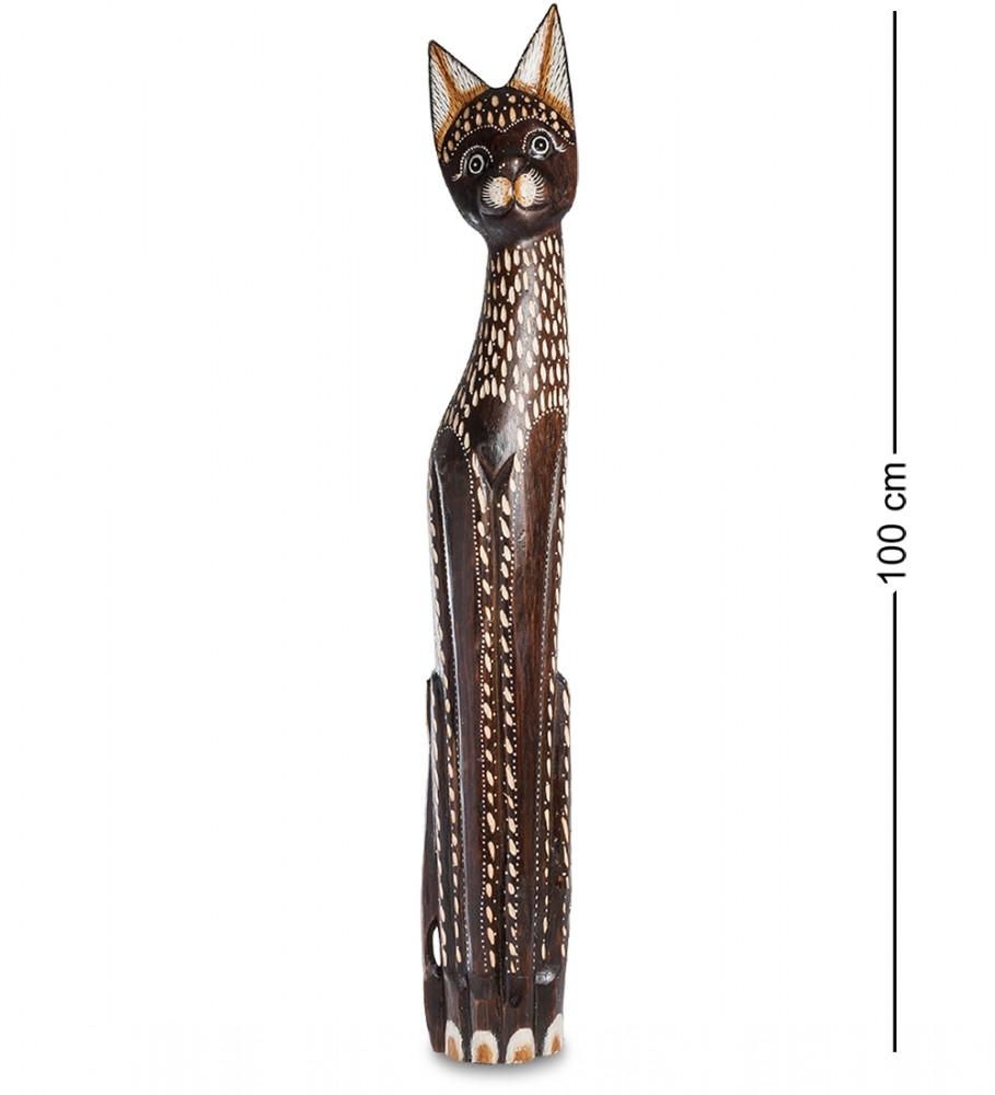 Фигурка из дерева Кошка Фоминка 100 см