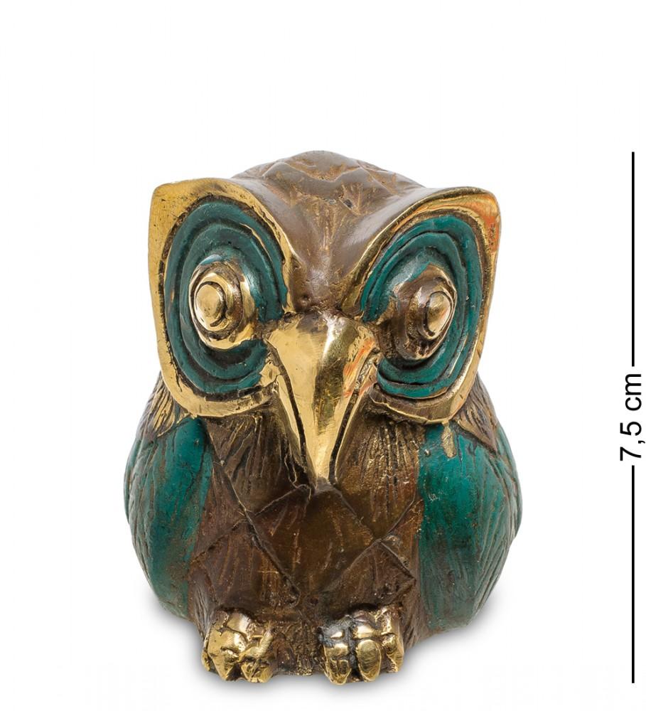 Фигурка из бронзы Сова 7,5 см.