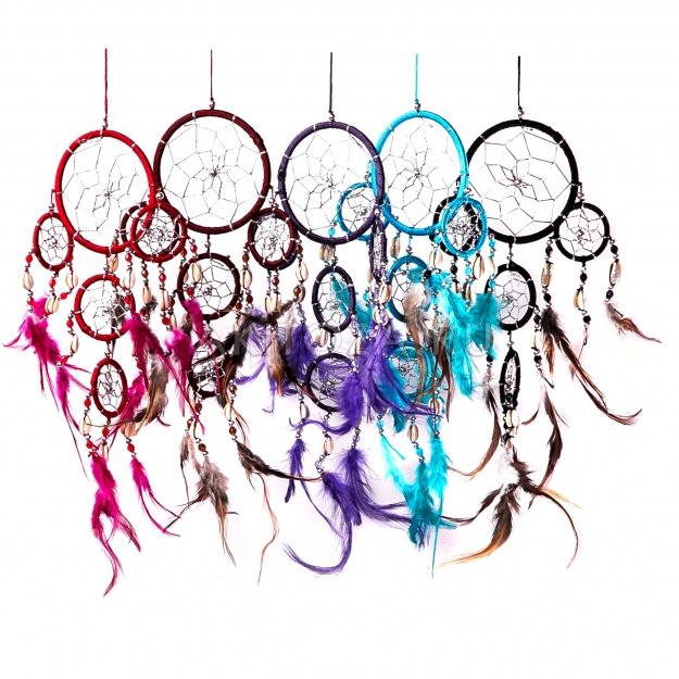 Ловушка снов Круги разноцветные 12 см