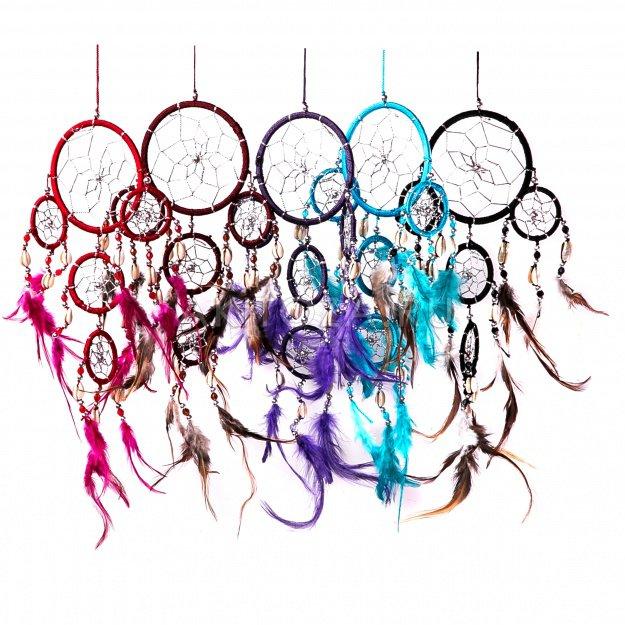 Ловушка снов Цветной круг 9 см