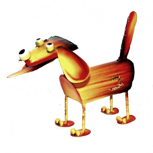 Статуэтка из дерева Собака 11 см