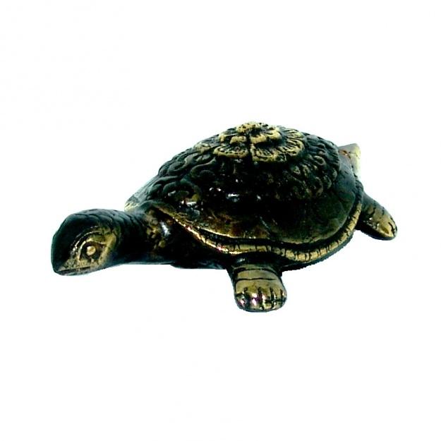 Фигурка из бронзы Черепаха 9 см