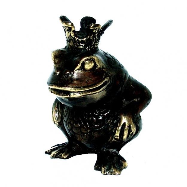 Фигурка из бронзы Царевна лягушка 8 см