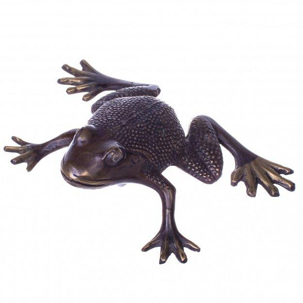 Фигурка из бронзы Лягушка 9 см
