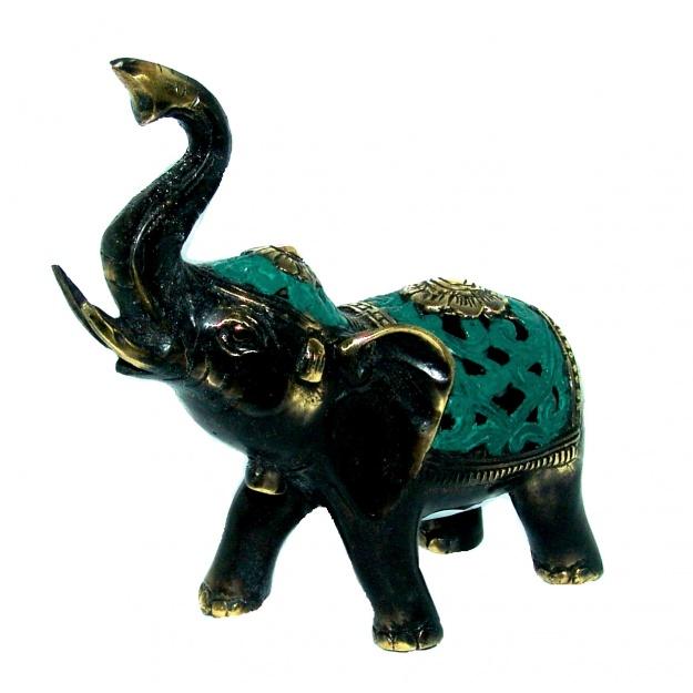 Фигура из бронзы Слон 15 см