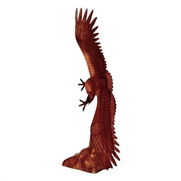 Фигура из дерева Орел 100 см