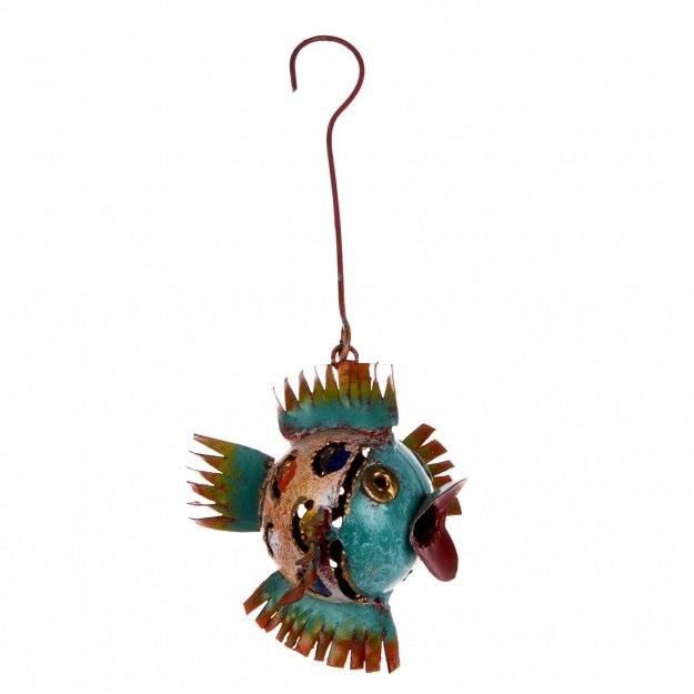 Фигурка из металла Рыбка 7 см.