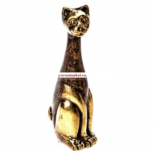 Фигурка из бронзы Кошечка 12 см