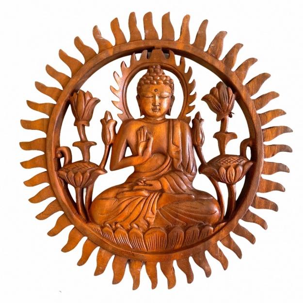 Фигура подвесная Будда 30 см.