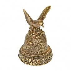 Колокольчик из бронзы Орел 4 см