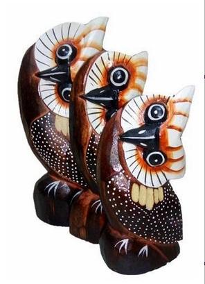 Статуэтки сов для декора 20, 18, 15см