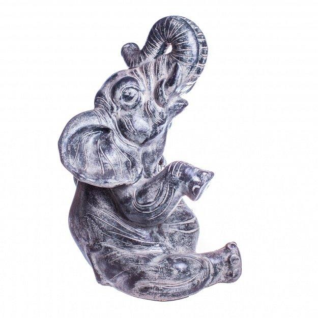 Фигура из камня Слон 45 см