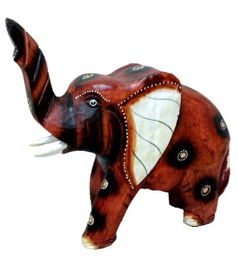 "Сувенир из дерева ""Слон Винфрид "" 22х20см"