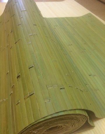 Полотно из бамбука Лайм ширина 90 см х 1 м