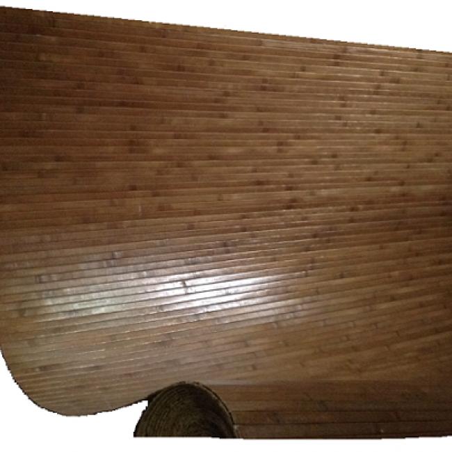 Бамбуковое волокно Каштан ширина 1,8 м х 1 м