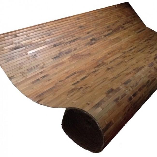 Бамбуковые обои Плитка шоколада ширина 0,9 м х 1 м