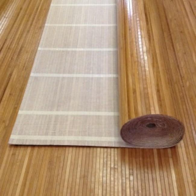 Бамбуковые обои Мед ширина 0,9 м х 1 м