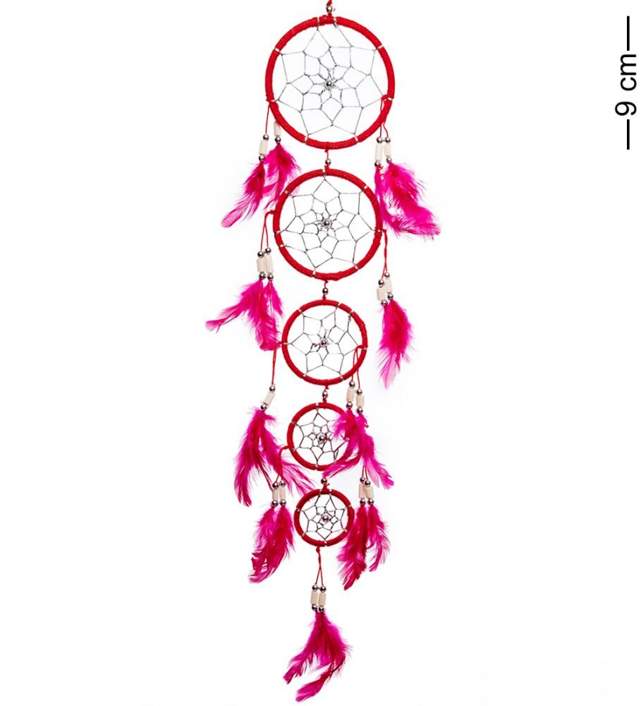 Ловец снов Каскад красных кругов 50 см