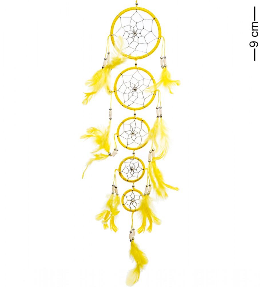 Ловец снов Каскад желтых кругов 50 см