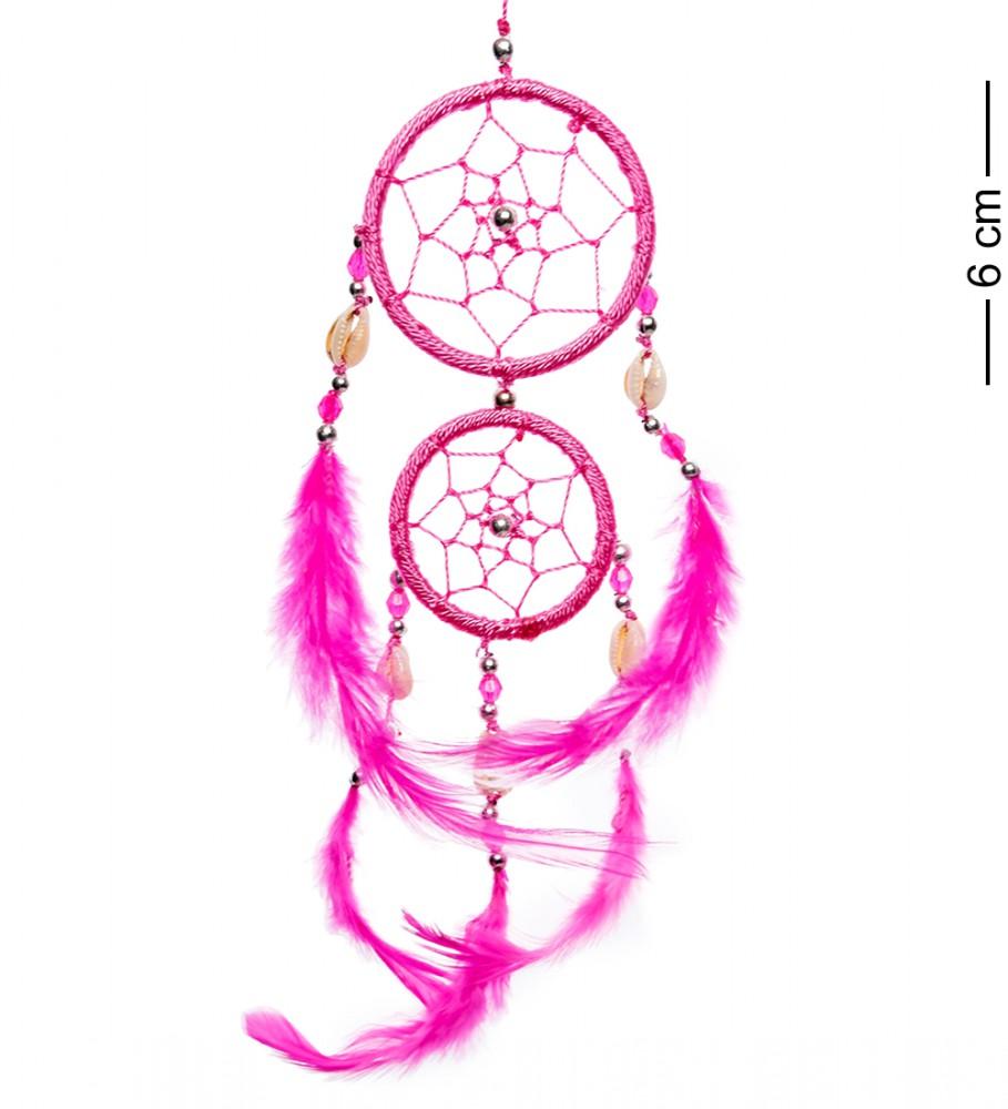 Оберег Ловец снов Розовые Сны 15 см