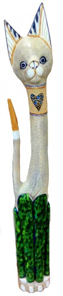 Фигура резная 'Кот Капитошка' 150см.