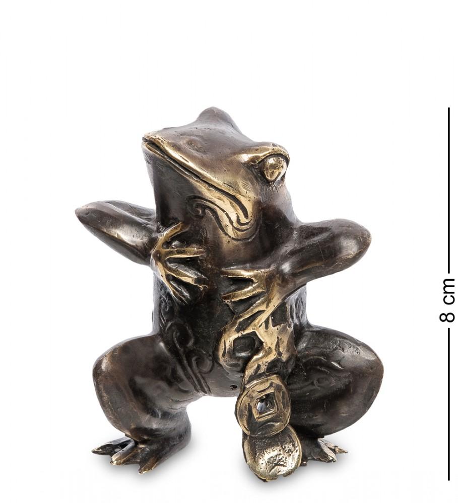"Фигура ""Лягушка"" из бронзы 8 см"