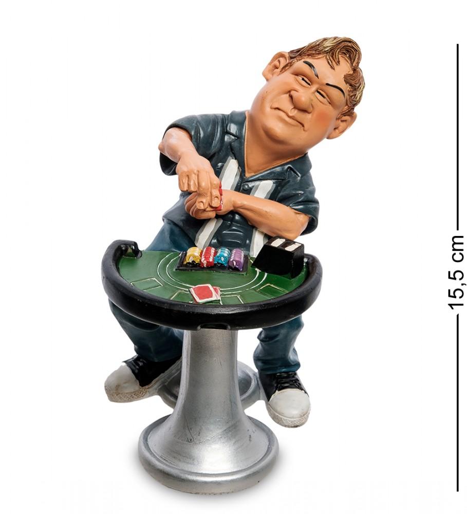 """Статуэтка """"Азартный Игрок"""" 15 см"""