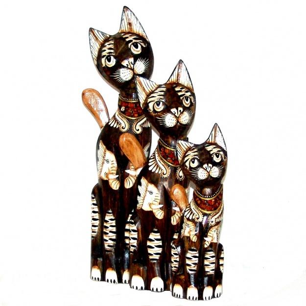 Набор статуэток Коты мечтатели 30,40,50 см