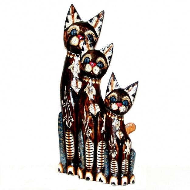 Набор статуэток Коты с Ящерками 30,40,50 см