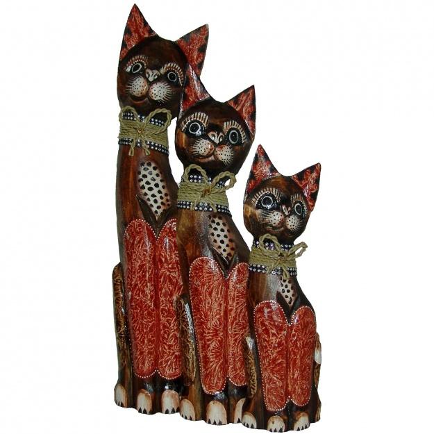 Статуэтки Коты в бантиках 30,40,50 см