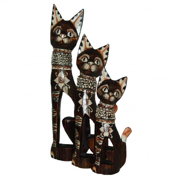 Набор Забавные Коты 30,40,50 см