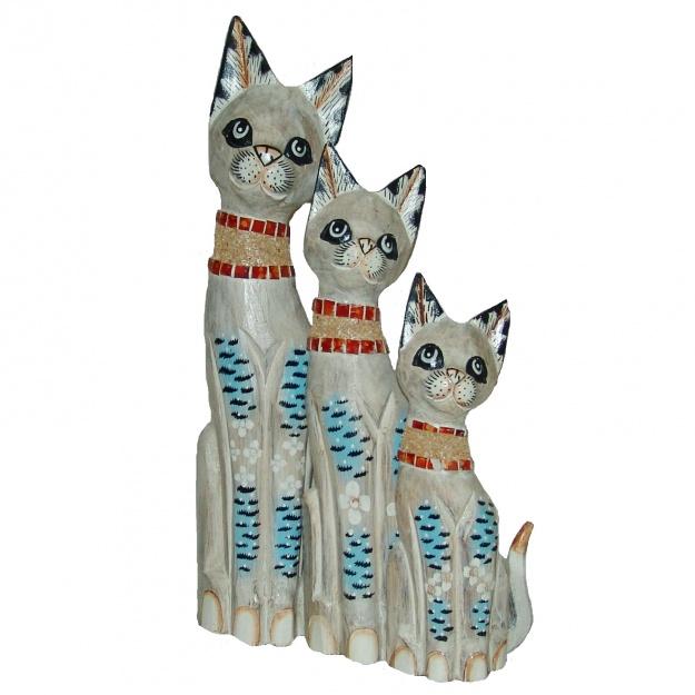 Кошки в красочном ошейнике 30,40,50 см