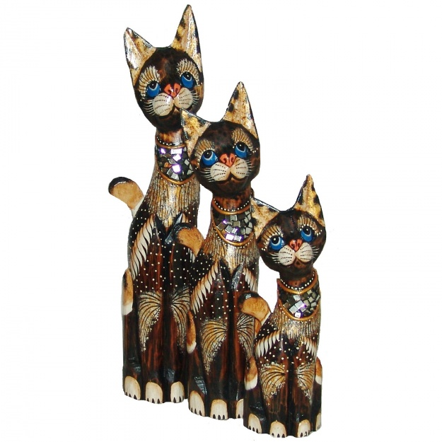 Коты с голубыми глазами 30,40,50 см