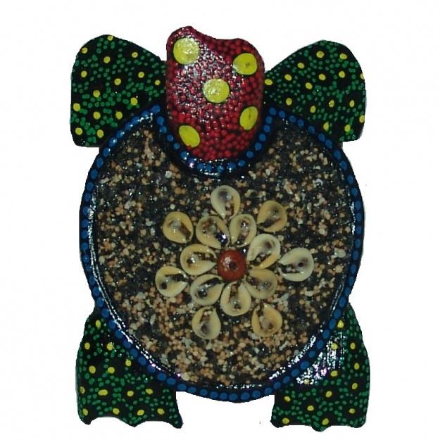 Панно Черепаха 12x9x3 см