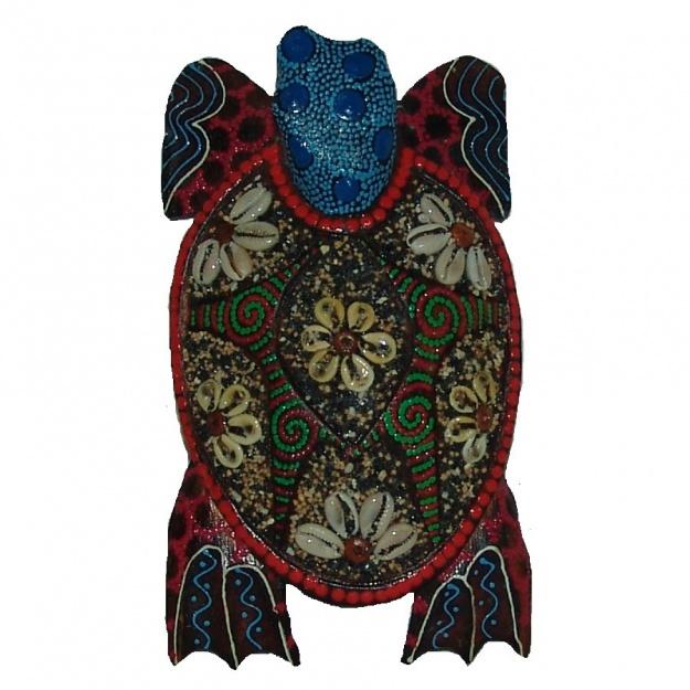 Фигурка с декором Черепаха 12x9x3 см