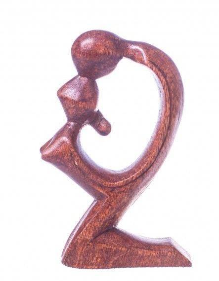Фигурка из дерева Абстракция Страсть 15 см.