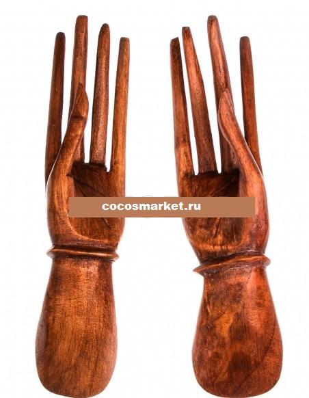 Изделие из дерева Пара рук (2 шт) 25 см