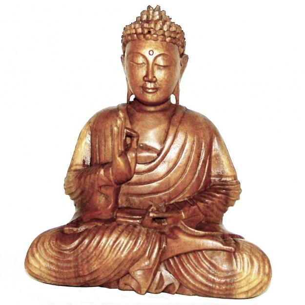 Статуэтка резная Будда 30 см.