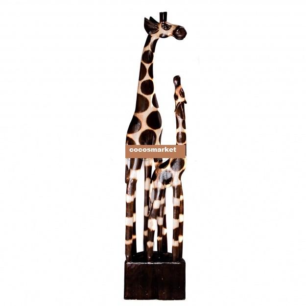 Статуэтка напольная 'Жирафы' 80cм.
