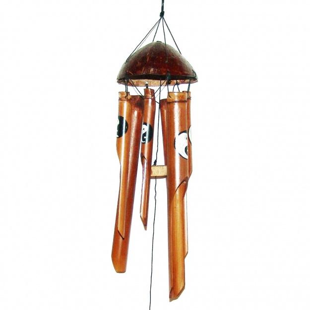 Музыка ветров из бамбука Инь-Янь 40 см