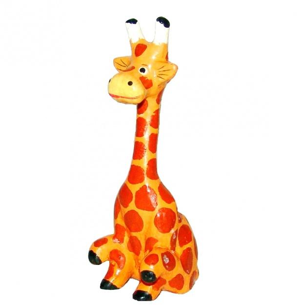 Фигурка Жираф сидячий 15 см.