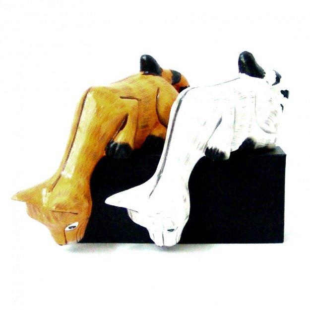 Статуэтка Котик озорник 12 см.