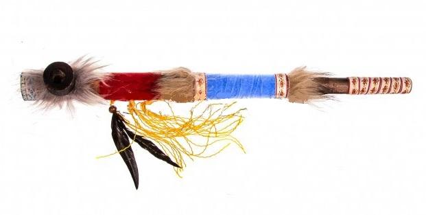 Курительная Трубка индейская 50 см.