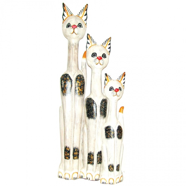 Оригинальные фигурки Беленькие Кошечки 60,80,100 см