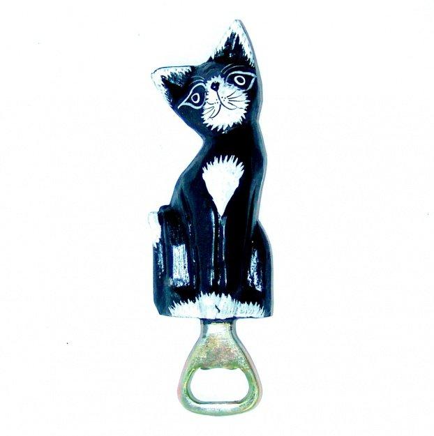 Открывашка с фигуркой кошки 20 см
