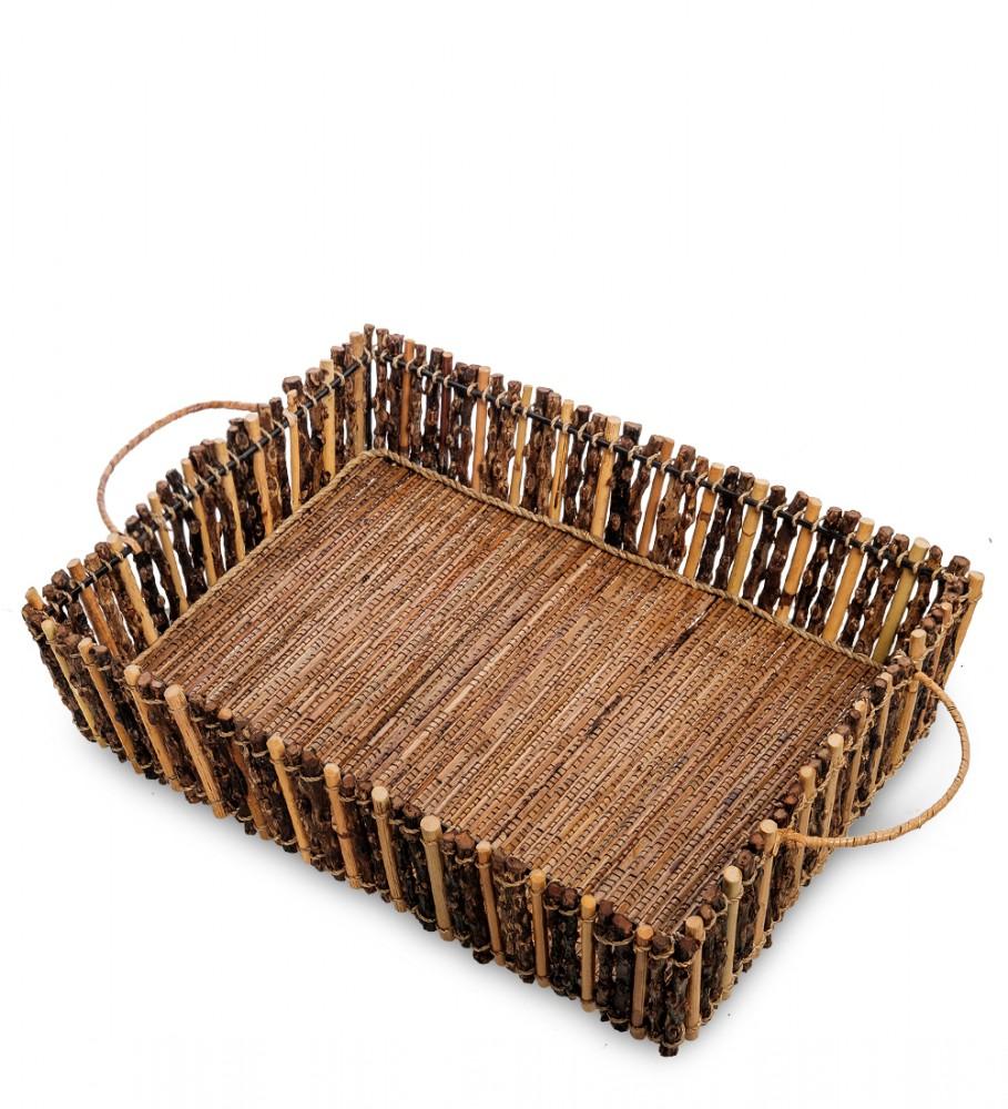 Плетеная корзинка для мелочей 36х23 см
