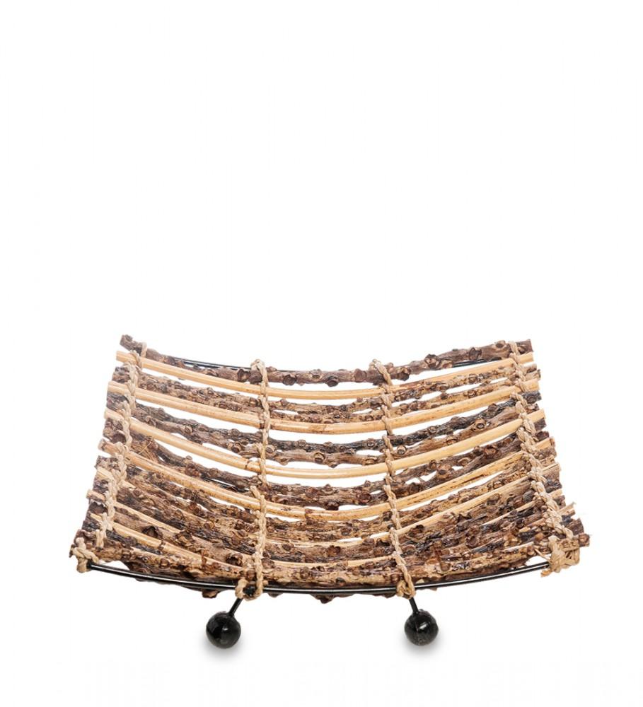 Ажурное плетеное блюдо 25 см