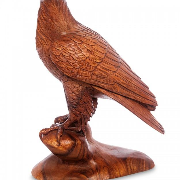 Фигура Орел резной