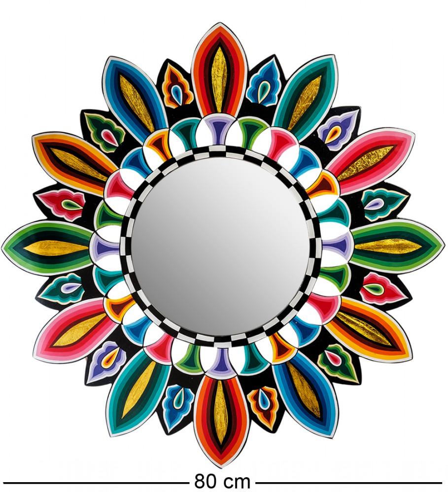 "Интерьерное зеркало ""Яркий цветок"" 80 см"